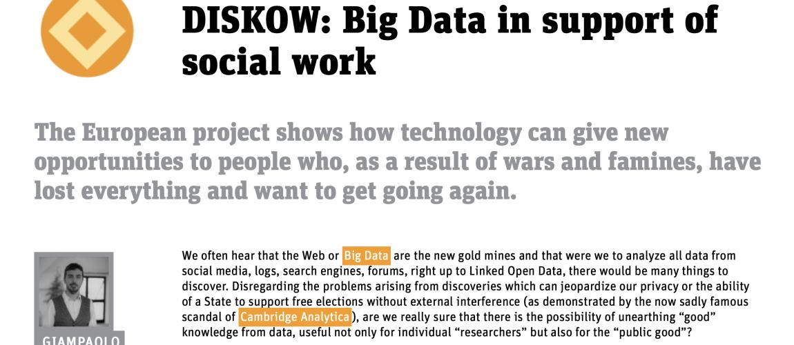 DISKOW News in the Ingenium Magazine